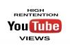 provide 1000+ ultra HR desktop youtube views