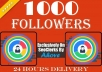 Get instant 1000 Followers To Your Social Profile for $2