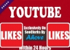 Get Instant 100 Safe YouTube Likes In Your Video