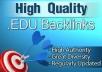 Create 150 EDU Links For Your Website, Google Love Ed... for $6