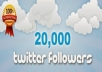 Provide 20,099+ REAL looking TWITTER  Real human verified Twitter
