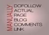 I Do Manual White Hat Seo 85 Dofollow Backlinks 5pr6 ... for $8