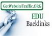 get you 830 EDU backlinks from edu blogs for $21