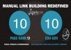 10 PR9 Backlinks and 10 .Edu/.Gov Backlinks only