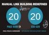 20 PR9 Backlinks and 20 .Edu/.Gov Backlinks only