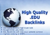 Give you relevant 100 .EDU SEO backlinks for $5