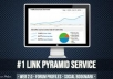 do Link Pyramid of 10 Web2 and 30 Wiki posts and 4k b... for $13