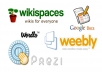 Create Link wheel or Pyramid using 30 web2 with image... for $5