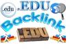 Make 800 Edu Blog comments backlinks for your website