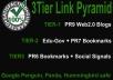 Create Hummingbird safe 3 Tier Link Pyramid using PR9... for $5