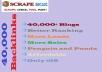 Do 30,000 Blog comments Hyperlinks for your website