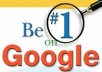 Google DOMINATION SEO package - 500 High quality Backlinks