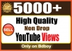 Provide you 5000  YouTube VieWS for $2
