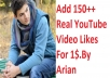 SUPER FAST or Deep Feed 100+  YouTube Video Likes only