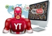 NEW !!! give you 1200+  YOU-TUBE HR Views FAST and SAFE!