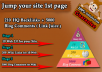 Biggest Service - Bump your site 1st page of google with Help of our 2017 link pyramid