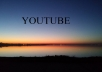 give you 2000 HR youtube views and 100 youtube likes,real,no disappear, no work with bots