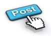 I Get Quickly  4000+ Social network Post  & Real powerful  Visitor only  .