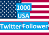 i provide you 1000 USA Twitter Follows OR Re-tweet OR... for $5