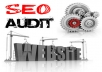 Perform a FULL website plus SEO Audit to help optimize search and increase traffic