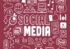 6,000 PR9 Social Signals from the No.1 Social Media website