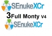 Get 3 Full Monty SenukeXcr SEO Campaigns  for $10