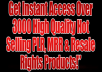 ONE Million PLR - Private Label Rights Articles &... for $3