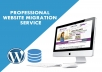 I will transfer your webste or Migrate your website to any hosting