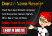 Become Domain Reseller with WebStore & Earn thous... for $99