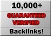 10,000 quality backlinks