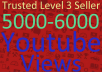 Add 5000-6000 Adsence Safe High Retention Youtube  Vie ws Within 24-36 Hours Instant Start