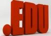 provide 1500 .edu high authority backlinks