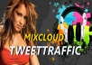 I Will Give You EXCLUSIVE MixCloud Promotion for $5