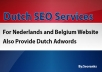 ^^^*** I will manually build 8 Relevant DUTCH Directo... for $15