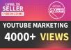 Add 5000 FAST High Retention YouTube Views