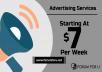 7 days banner advertising