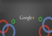 give you 150+ google plus popular service for $1