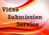 Manually upload or share your video on Top 5 Video submission sites