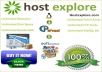 Unlimited Web hosting for 1yr with cPanel/Softaculous