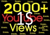 I will Add 1000-1500+ High Quality Youtube views Fast Delivery with 5 likes