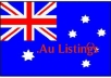 I will submit your Australian business in 31 au citat... for $10