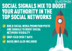 1550 PR9 Social Signals To Boost Your Authority In Th... for <span class=