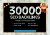 create 30000 backlinks to your providing domain  for $10