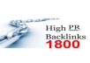High Quality ping and submit your WEBSITE OR BLOG to over 1800 search engines only