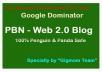 PBN - Manually 30 Web 2.0 Blog Creation From Moz DA50 - DA100