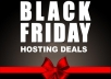 BLACK FRIDAY HOSTING DEALS - 50% DISCOUNTS - SSD Clou... for $12