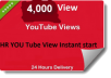 Start instant 5000+ HR YouTube Video Views within 48 hours