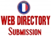 I will do 31 France high pr do follow web directory S... for $10