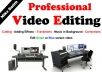 do Any Video Editing Professionaly + Add Background Music + Pictures in Video