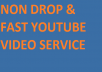 Super Fast 1200-1500 Bonus High Retention YouTube view
